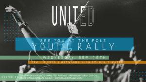 UNITED - YOUTH RALLY @ Hernando High School Theater